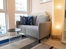 FULL HOUSE Studios - CityLounge Apartment - NETFLIX, WiFi inkl, accessible hotel in Leipzig