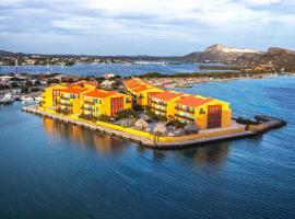 Sea side apartment Palapa Resort, apartamento em Jan Thiel