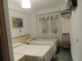 Hostal Cumbre, habitació en una casa particular a Saragossa