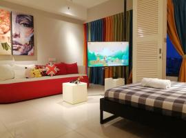Tropicana 218 Georgetown Penang #25 New Deco 2BR for 5-8pax, hotel near Penang Turf Club, George Town