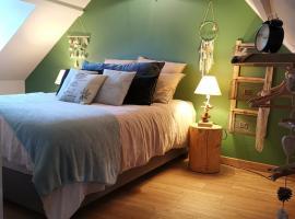 Naturogite Honfleur centre historique avec SAUNA privé, hotel near Saint Stephen's Church, Honfleur