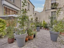 Loft en plein coeur du marais dans un hôtel particulier, apartment in Paris
