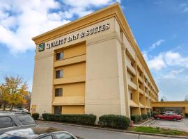 Quality Inn & Suites Raleigh Durham Airport, hotel in Morrisville