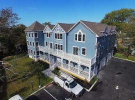 Brand New Construction Washington Street 4 bed 3 bath 2nd floor condo, vacation rental in Cape May