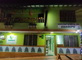 HOSPEDAJE GUATAPE, hotel in Guatapé