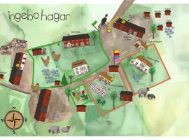 Ingebo Hagar bondgårdsboende, hotell i Vimmerby