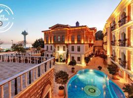 Seven Hills Palace & Spa, отель с бассейном в Стамбуле