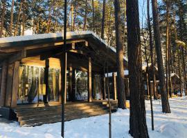 Orlinoye Gnezdo, family hotel in Ust'-Muny