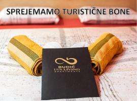 LUX LIVING APARTMENTS BUDIČ, hotel u blizini znamenitosti 'Terme Čatež' u Brežicama