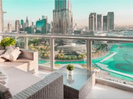 Elite Royal Apartment - Full Burj Khalifa & Fountain view - Ambassador, apartment in Dubai