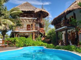 Casa Hridaya Hotel Boutique, hotel in Holbox Island