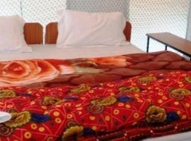 Nirvana, luxury tent in Spangmik