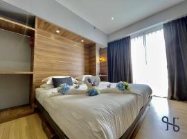 Homesuite' Home at Aeropod SOVO, family hotel in Kota Kinabalu