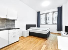 Apartments Harfa, hotel in Prague