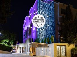 Amman International Hotel, מלון ליד כיכר אל מנארה, עמאן