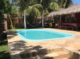Casa Bouganville apartamento 202, hotel with pools in Jericoacoara