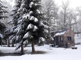 Insolite Tiny House Sérénité Bien Être, country house in Ban-sur-Meurthe-Clefcy