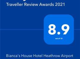 Bianca's House Hotel Heathrow Airport, hotel near Windsor Castle, Hillingdon