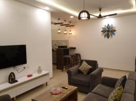 Eerus Den - A Luxurious 2 Bedroom Apartment By Leela Homes, apartment in Arpora