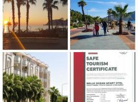 Belle Ocean Apart Otel, отель в городе Аланья, рядом находится Пляж Клеопатры