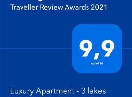Luxury Apartment - 3 lakes – apartament w mieście Katowice