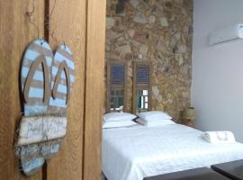 Almas Gêmeas suíte com cozinha praia da Ribeira, guest house in Angra dos Reis