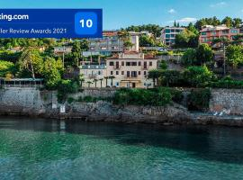 Seaside Apartment Volosko on the beach, hotel with jacuzzis in Opatija