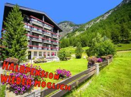Hotel Alpenhof - Halbpension, hotel in Saas-Almagell