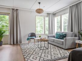 Allinkatu SleepWell Apartments with sauna, huoneisto Turussa