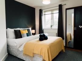 Spacious I Free Parking I Fast WIFI I Free Netflix I Workspace I PRIDE APARTMENTS, apartment in Derby