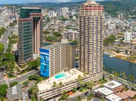 Honolulu Resort Penthouse Condominium, отель в Гонолулу