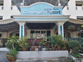 Convenient Resort, Suvarnabhumi Airport, hotel in Lat Krabang