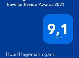 Hotel Hegemann garni, hotel in Hövelhof