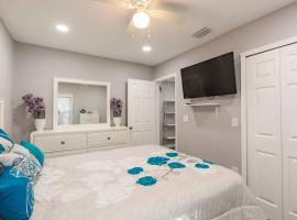 Contemporary Elegant Cozy Apartment With Parking Jacuzzi & Grill, apartment in Tampa