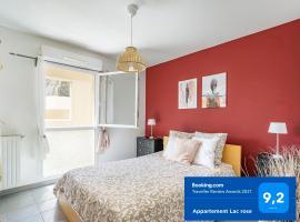 """""""Appartement Lac rose"""" Parking, Métro, Wifi, Netflix, jusqu'à 4 personnes, pet-friendly hotel in Marseille"""