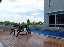 NVD12A (Brand New Notre Villa Dago), villa in Bandung
