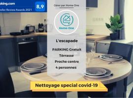 L escapade- Home-One, apartment in Dole