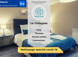 La collegiale- Home-One, apartment in Dole