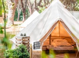 Pigna Felice, luxury tent in Marina di Grosseto