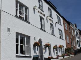 Manor Hotel, hotel u gradu 'Exmouth'