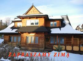 Willa Pod Słońcem, homestay in Zakopane