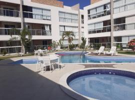 Apartamento c/ varanda Gourmet na Praia do Francês, pet-friendly hotel in Marechal Deodoro
