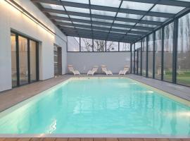 HOTEL EDEN SPA, hotel in Honfleur