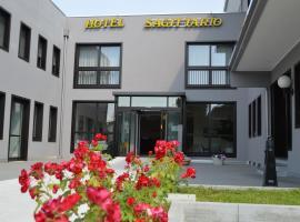 Hotel Sagittario, отель в Падуе