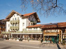 Café Chiemgau und Gästehaus, Ferienwohnung in Ruhpolding