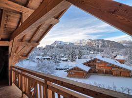 Chalet Arpitan - les Carroz - Grand Massif, hôtel aux Carroz d'Arâches