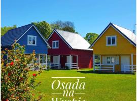 OSADA NA WYSPIE, holiday home in Gdańsk