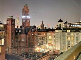 Luxury central Manchester studios sleeps 2, hotel in Manchester