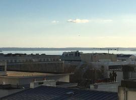 Appartement vue mer Brest hyper centre, appartement à Brest