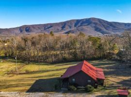 Beautiful View! Log cabin,Fireplace,Hot Tub,Arcade,Pool,Fishing, villa in Sevierville
